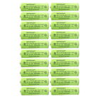 AA 300mAh 1.2v NiMH Rechargeable Solar Light Batteries For Outdoor Garden Lights