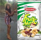 Jamaican Snack Package Pack 5 Fruit and & Nut Natonal Peanuts Raisins 100g 3.5oz