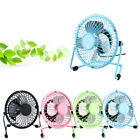 USB Fans Mini Portable Desktop Cooling Desk Quiet Computer Laptop PC Electric UK