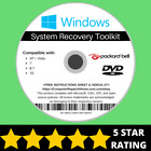 Packard Bell Windows 10 8 8.1 7 Vista XP Recovery Repair Disc USB Reinstall