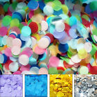 Lots 10~50g Round Tissue Paper Throwing Confetti Party Wedding Table Supplies