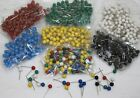Map Pins 100 Small 5mm Head for Indicator, Cork and Notice Boards