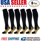 Kyпить 6 Pairs Compression Socks 20-30mmHg Graduated Men Women Sport Socks S-XXL на еВаy.соm
