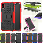 Hybrid Kickstand Armor Rugged TPU+PC Shockproof Case Cover For iPhone 7/8Plus X