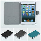 Fashion Faux Leather Protective Flip Cover Skin Case Stand For iPad Min/vf