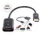 """USB Type C 3.1 to USB Female OTG Host Adapter Cable For New Macbook 12"""" [ BLK ]"""