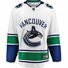 NHL Vancouver Canucks Fanatics Branded Away Breakaway Jersey Shirt Mens $142.07 USD on eBay