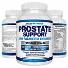 Prostate Supplement - Saw Palmetto + 30 HERBS - Reduce Frequent Urination, Remed