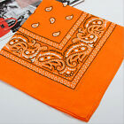 Square Paisley Pattern Bandana Kerchief Polyester  Neck Scarf Party Headwear