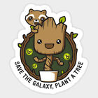 Guardian Of Galaxy I Am Groot Vinyl Graphic Decal Sticker For Laptops Wall Cars