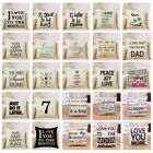 Внешний вид - Cotton Linen Square Home Decorative Throw Pillow Case Sofa Waist Cushion Cover