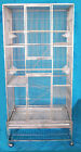 """30""""x18x70"""" SUS304 Stainless Steel Parrot Cage Bird Cage no rust easy clean SS18"""