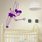 Magic Fairy Tinkerbell Wall Stickers Car Laptop Fridge Decal Decor 40cm x 60cm