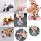Baby Pacifier Plush Cartoon Animals Doll Hanging Removable Nipple Soother Toys