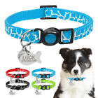 Quick Release Personalized Cat Collar with Dog Cat ID Tag Safety Break Away