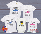 Baby Shark Doo Doo Mummy Daddy Family T-Shirts BabyGrow Cute Matching Funny Gift
