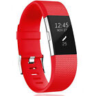For Fitbit Charge 2 Silicone Replacement Wristband Strap Bracelet Watch Bands