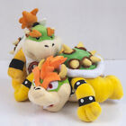 Super Mario Bowser's Castle King Bowser Koopa & Baby Bowser JR Plush Doll Toy