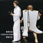 Star Wars Princess Leia Cosplay Shoes Boots Cos Shoes $46.5 USD on eBay