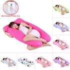Maternity Pregnancy Sleepig Pillow Case U Shape Cushion Cover Boyfriend Arm Body image