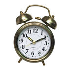 Alarm Clock, Non Ticking, Loud Alarm for Heavy Sleeper, Battery Operated