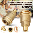 "Внешний вид - QCC1 Connection 1/4"" Male Pipe Thread Propane Gas Fitting Adapter Connector New"