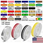 """9/16"""" Roll Vinyl Pinstriping Pin Stripe Double Line Car Tape Decal Stickers 15mm"""