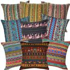 Ah3 Cotton Cushion Cover*Striped sofa seat Throw Oblong Pillow Case*Custom Size