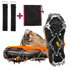 Внешний вид - 18 Teeth Ice Snow Crampons Anti-slip Climbing Gripper Shoe Covers Spike Cleats