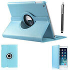 New iPad 360 Rotating Stand Case Cover For Apple iPad 6th Generation 2018 9.7&quot; <br/> iPad 6th Gen 9.7 2018 Case + Free Stylus Fast Delivery