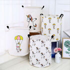 Laundry Bedroom Storage Bucket Toy Bin Basket For Kid Home Animal Pattern
