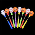 Hot Kid 4PCS LED Halloween Glowing Hand Sticks Bar Prop Tricky Toy