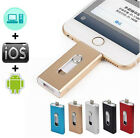 512GB USB Flash Drive 3in1 OTG Memory Disk Thumb For IOS iPhone iPad/PC Android