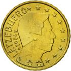 [#581971] Luxembourg, 10 Euro Cent, 2004, MS(60-62), Brass, KM:78