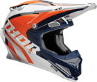 Thor Motocross Enduro Helm Richochet Navy Orange