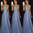 US Women's Bridesmaid Prom Ball Gown Formal Evening Party Co
