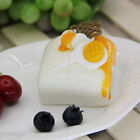 Realistic Fake Mini Cute Cake Model Sample Food Display Kids Teaching Aid