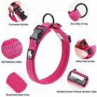 Dog Collar 3M Reflective Soft Mesh Padded Adjustable Nylon Pet Dog Collar