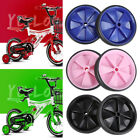2 pcs Kids Bicycle Training Wheels Bike Stabilisers Safety for 12 to 20 Inch