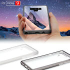 Crystal Clear Case Slim Fit Transparent Back Soft Rubber Cover for Samsung Galax
