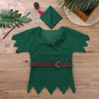 Boys Robin Hood Hunter Fancy Costume Book Week Childs Childrens Cosplay Dress up