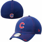 "Chicago Cubs ""C"" New Era Neo 39THIRTY Stretch Fit Flex Mesh Back Cap Hat 3930"