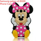 3D Mounse Mickey Phone Case Shell Rubber Cover For samsung galaxyS3 I9300