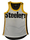 Pittsburgh Steelers Tank Women's Touchback Mesh Top $31.99 USD on eBay