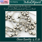 Sports Ball Inflating Air Pump Needle Pin Nozzle Soccer Basketball Football $4.39 USD on eBay