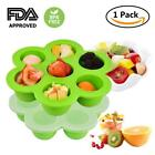 New Weaning Baby Food Silicone Freezer Tray Storage Containe