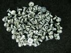 "#4-40 X 3/16"" 82deg Phillips Flat Head Machine Screw Zinc Plate Steel LOT OF 100"