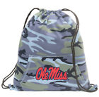 Ole Miss Backpack CAMO Drawstring Bag Pack UNIQUE HOODY DESIGN!