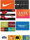 10 to 100 Physical Gift Cards Standard 1st Class Mail Delivery Athentic