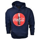 COCA COLA Mens 2XL 3XL Pullover Hoodie Sweater Vintage Graphic Logo NEW Cotton $25.19  on eBay